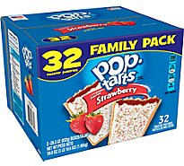 Kelloggs Pop-Tarts Frosted Strawberry - 58.6 Oz