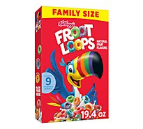 Froot Loops Breakfast Cereal Original Family Size - 19.4 Oz