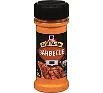 McCormick Grill Mates Barbecue Rub 6  Oz