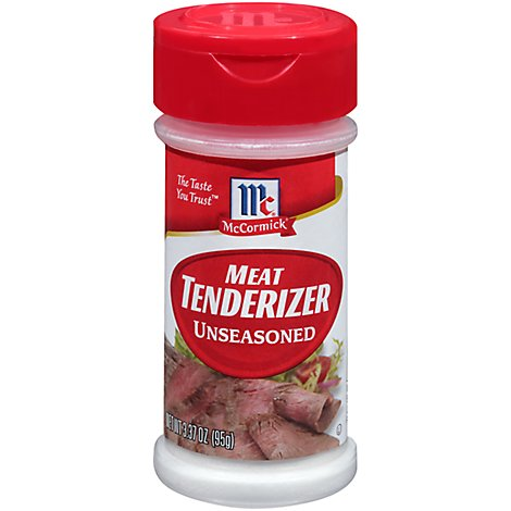 McCormick Meat Tenderizer Unseasoned - 3.37 Oz