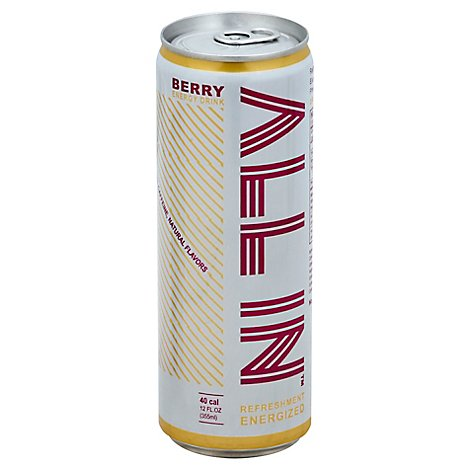 All In Bev Energy Berry - 12 Oz