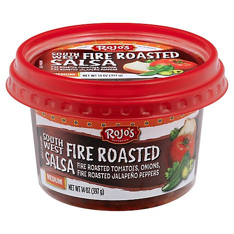 Rojos Southwest Fire Roasted Salsa - 14 Oz