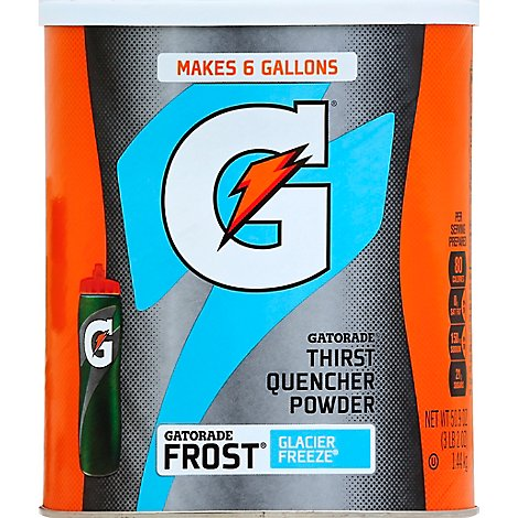 Gatorade 02 Perform Thirst Quencher Frost Glacier Freeze 50.9 Ounce Instant - 50.9 Oz