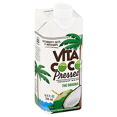 Vita Coco Pressed Coconut - 16.9 Fl. Oz.