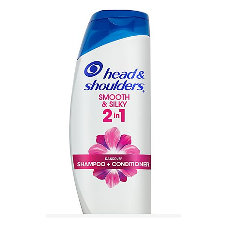Head & Shoulders Shampoo + Conditioner 2In1 Smooth & Silky - 21.9 Fl. Oz.