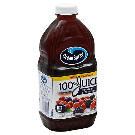 Ocean Spray 100% Cranberry Blackberry - 60 Fl. Oz.