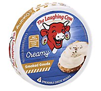 The Laughing Cow Creamy Smoked Gouda Cheese Spread 6 oz