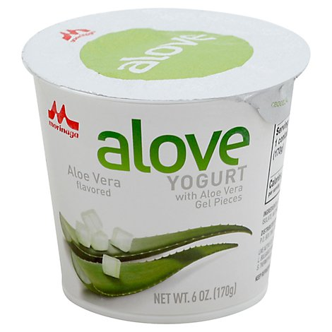 Alove Yogurt Orig Aloe Vra - 6 Oz