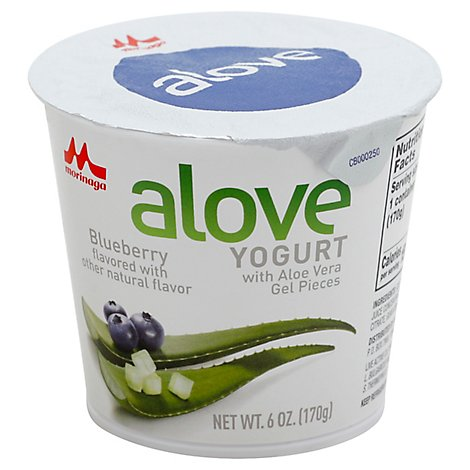 Alove Yogurt Blubry Aloe Vra - 6 Oz
