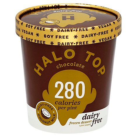 Halo Top Dairy Free Chocolate - 1 Pint