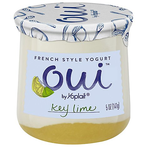 Oui By Yoplait French Style Ygrt Key Lime - 5 Oz