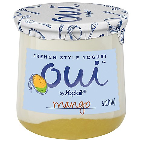 Oui By Yoplait Mango Yogurt - 5 Oz