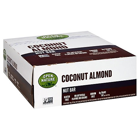 Open Nature Nut Bar Coconut Almond - 1.4 Oz