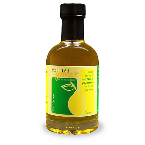 Extravagonzo Meyer Lemon Infused Cooking Oil - 6.8 Fl. Oz.