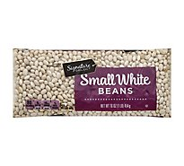 Signature SELECT Beans White Small Dry - 16 Oz