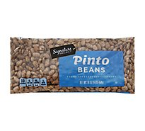 Signature SELECT Beans Pinto Dry - 16 Oz