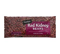 Signature SELECT Beans Red Kidney Dry - 16 Oz