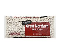 Signature SELECT Beans Great Northern Dry - 16 Oz