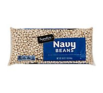 Signature SELECT Beans Navy Dry - 16 Oz