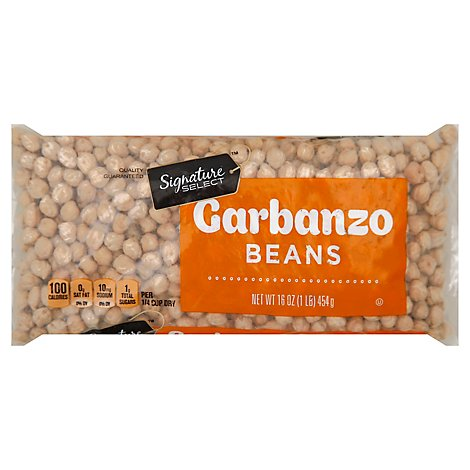 Signature SELECT Beans Garbanzo - 16 Oz