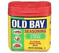 OLD BAY Seasoning With Garlic & Herb - 2.25 Oz