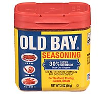 OLD BAY 30% Less Sodium Seasoning - 2.62 Oz