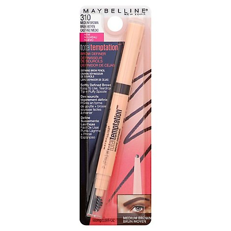 Maybe Temptation Brow Medium Brown - Each