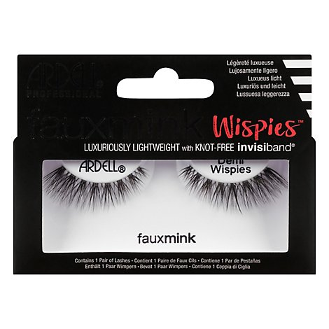 A.i.i Faux Mink Demi Lashes - Each