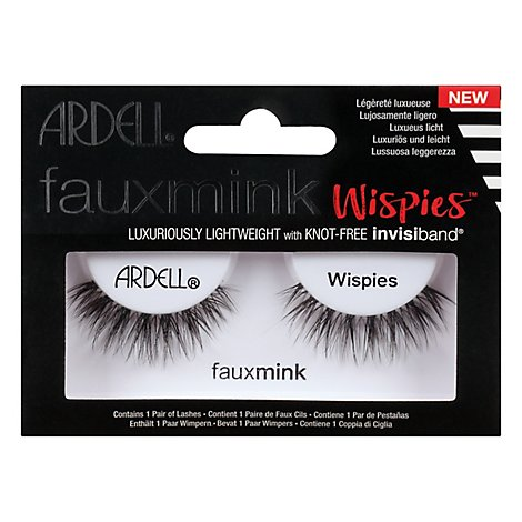 A.i.i Faux Mink Wispies Lashes - Each