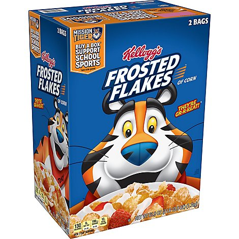 Frosted Flakes Breakfast Cereal Original - 61.9 Oz