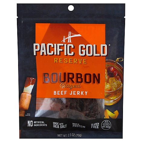 Pacific Gold Bourbon Glazed Beef - 2.5 Oz