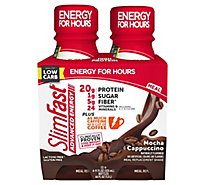 Slimfast Advanced Coffee Mocha Cappuccino - 4-11 Fl. Oz.