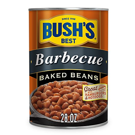 Bushs Best Baked Beans Barbecue - 28 Oz