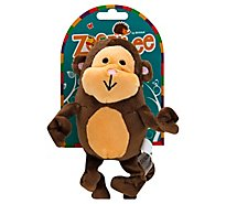 Zoobilee Dog Toy Stretchies Monkey Medium - Each