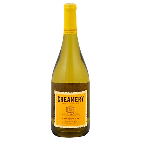 Creamery Chardonnay Wine - 750 Ml