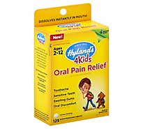 Hylands 4kids Oral Pain Relief - 125 Count