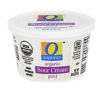 O Organics Sour Cream - 8 Oz