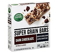 Open Nature Bars Super Grain Dark Choc - 6 Oz