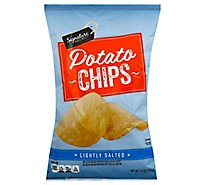 Signature SELECT Potato Chips Lightly Salted - 7.75 Oz
