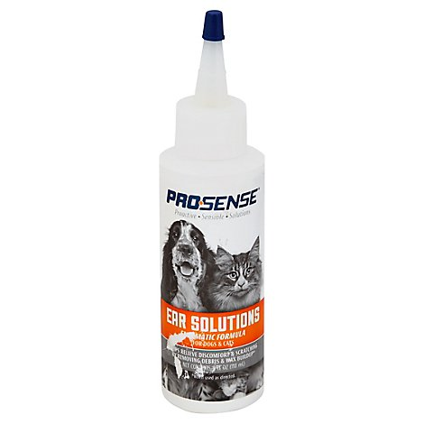 Pro-Sense Ear Solutions For Dogs & Cats Bottle - 4 Fl. Oz.