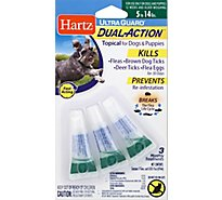 Hartz UltraGuard Topical For Dog & Puppies Dual Action 5 to 14 Lbs Blister Pack - 3 Count