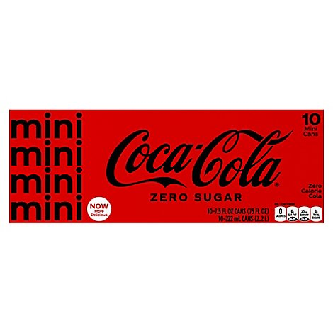 Coca-Cola Zero Mini - 10-7.5 Fl. Oz.