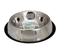 Ruffin It For Dogs Dish Stainless Steel Non Skid 64 Ounce - Each