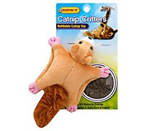 Ruffin It Catnip Toy Critters Refillable Pack - Each