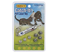 Ruffin It Pet Laser Toy Catch-It Pack - Each