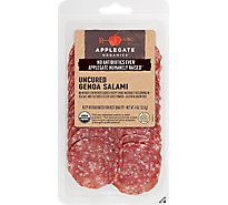 Applegate Organic Uncured Genoa Salami - 4 Oz