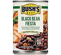 Bushs Black Bean Fiesta - 15.50 Oz