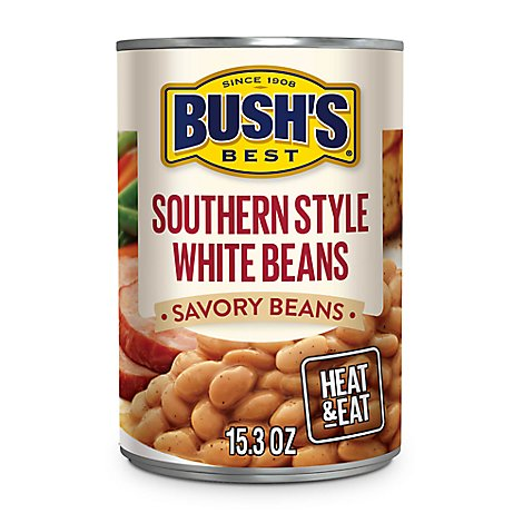 Bushs Best Southern Style White Beans - 15.3 Oz
