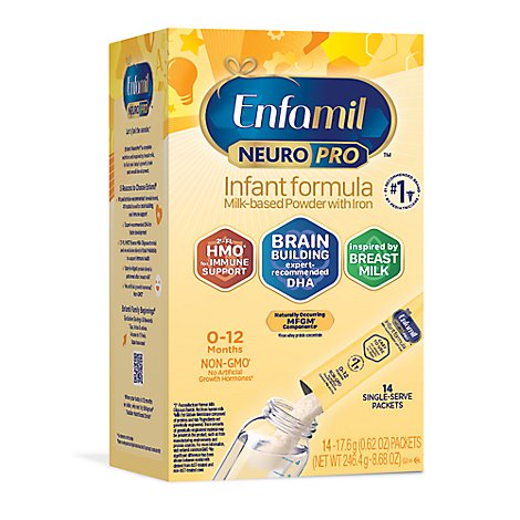 Enfamil NeuroPro Infant Formula Milk Based Powder With Brain Building Nutrition - 14-0.62 Oz