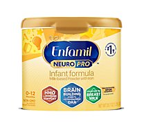 Enfamil NeuroPro Infant Formula Milk Based Powder  Brain Building Nutrition - 20.7 Oz